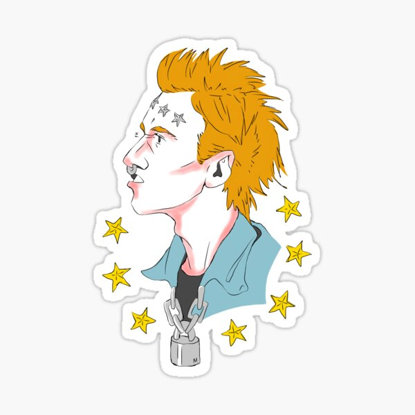 Vyv Portrait Sticker