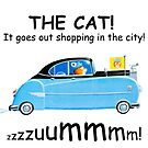 The cat! It goes out shopping in the city by Sunil Bhardwaj