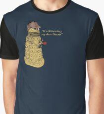 Sherlock Dalek  Graphic T-Shirt