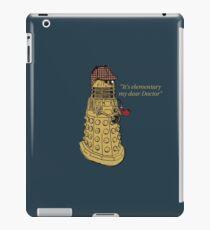 Sherlock Dalek  iPad Case/Skin