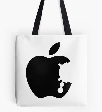 Dalek Apple White  Tote Bag