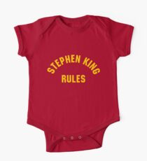 Stephen King Regeln Baby Body Kurzarm
