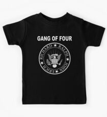 Gang of Four • Ramones Style Design for Programmers Kids Clothes