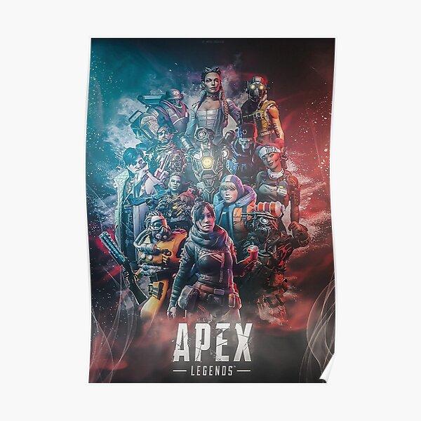 escouade de légendes apex Poster