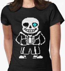 Sans Women's Fitted T-Shirt