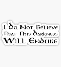 Darkness (Black) Sticker