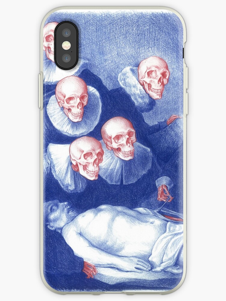 The Anatomy Lesson Of Dr Nicolaes Tulp Iphone Cases Covers By