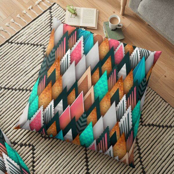 Repeating Pattern Floor Pillow