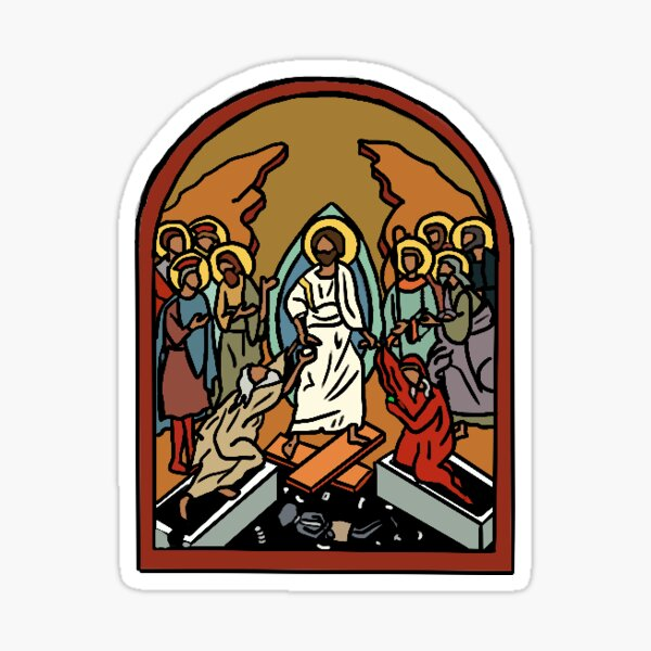 Anastasis Arch Sticker