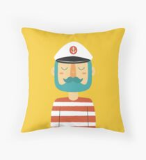 Ahoy Sailor Throw Pillow