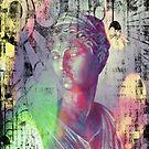 Artemis - goddess, mythology, bust, kynthia, by fuxart