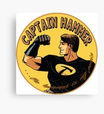 capt hammer Canvas Print