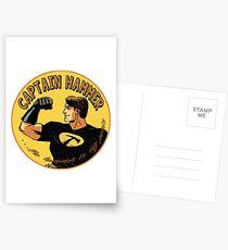 capt hammer Postcards