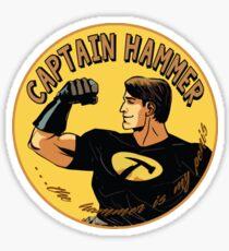 capt hammer Sticker