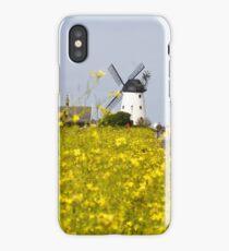 Lytham Windmill In Summer iPhone Case/Skin