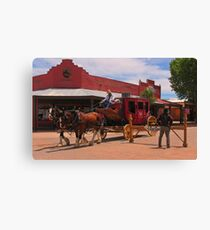 Stagecoach in Tombstone  Canvas Print