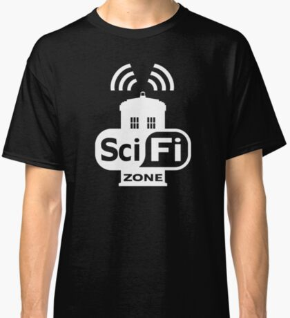 Sci-Fi ZONE White Classic T-Shirt