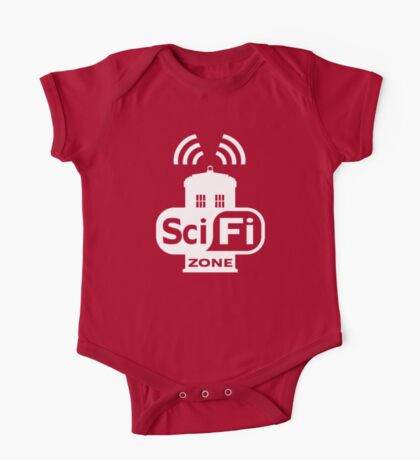 Sci-Fi ZONE White Kids Clothes