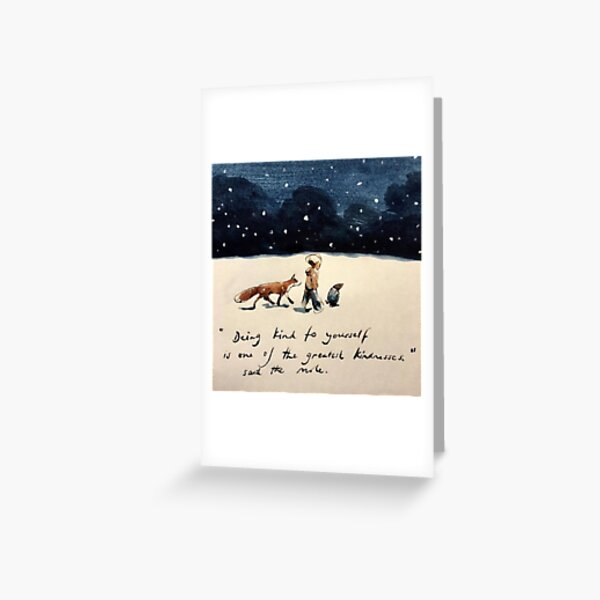 Charlie Mackesy Holidays Greeting Card