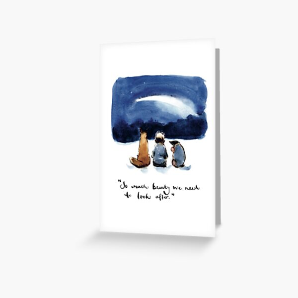 Charlie Mackesy Friendship Greeting Card