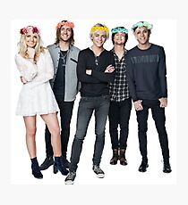R5 Flower Crown Group Shot Photographic Print