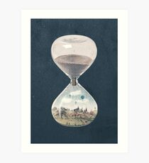 The City Where Time Stopped Long Ago Art Print