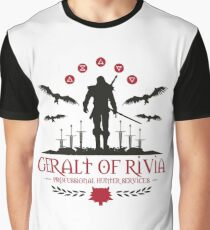 The Witcher 3 Wild Hunt Graphic T-Shirt