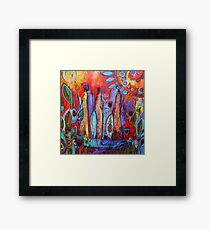 Tribal Africa Framed Print