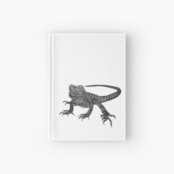 Kenneth the Water Dragon Hardcover Journal
