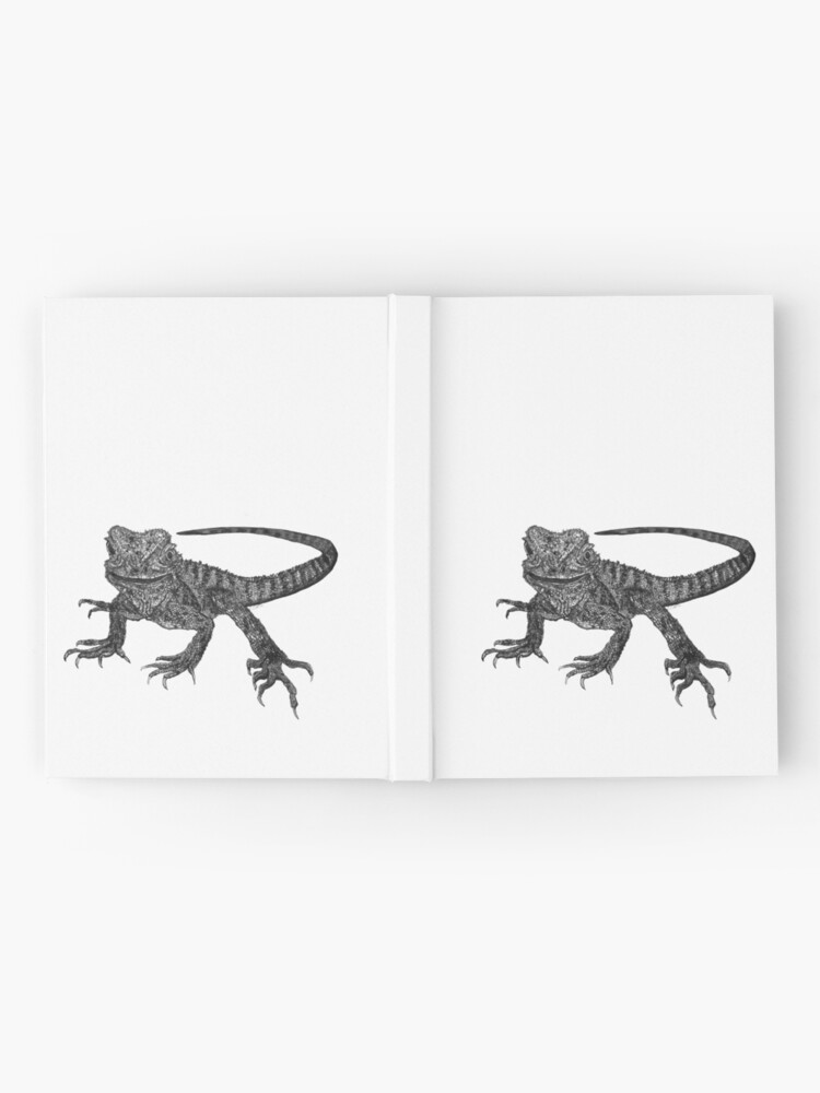 Alternate view of Kenneth the Water Dragon Hardcover Journal