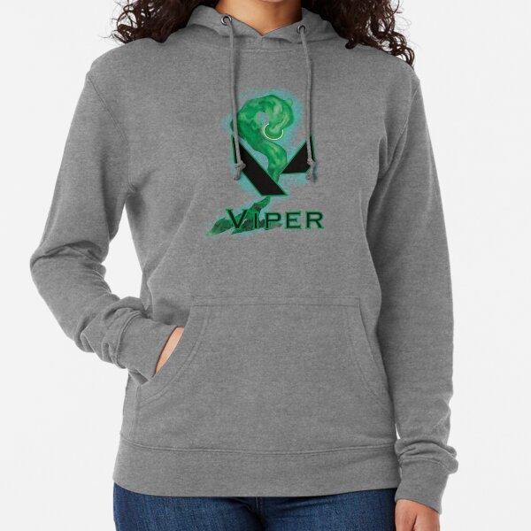 Valorant Logo - Viper Leichter Hoodie