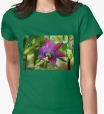 Passion Flower Women's Fitted T-Shirt