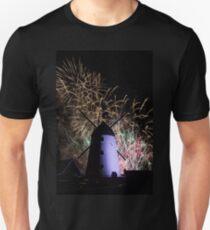 Lytham Windmill Fireworks T-Shirt