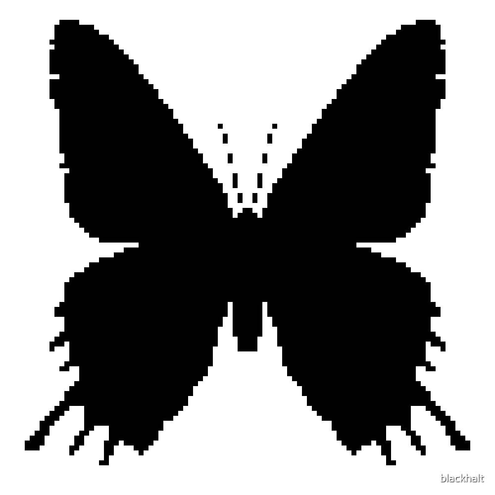 8-Bit Pixel épée Black