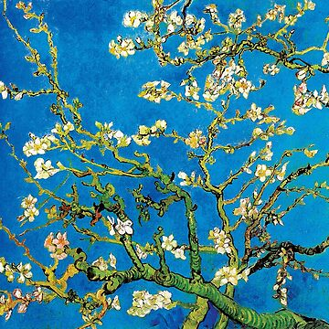 Vincent Van Gogh - Almond Blossoms Fine Art Painting by Jeffest