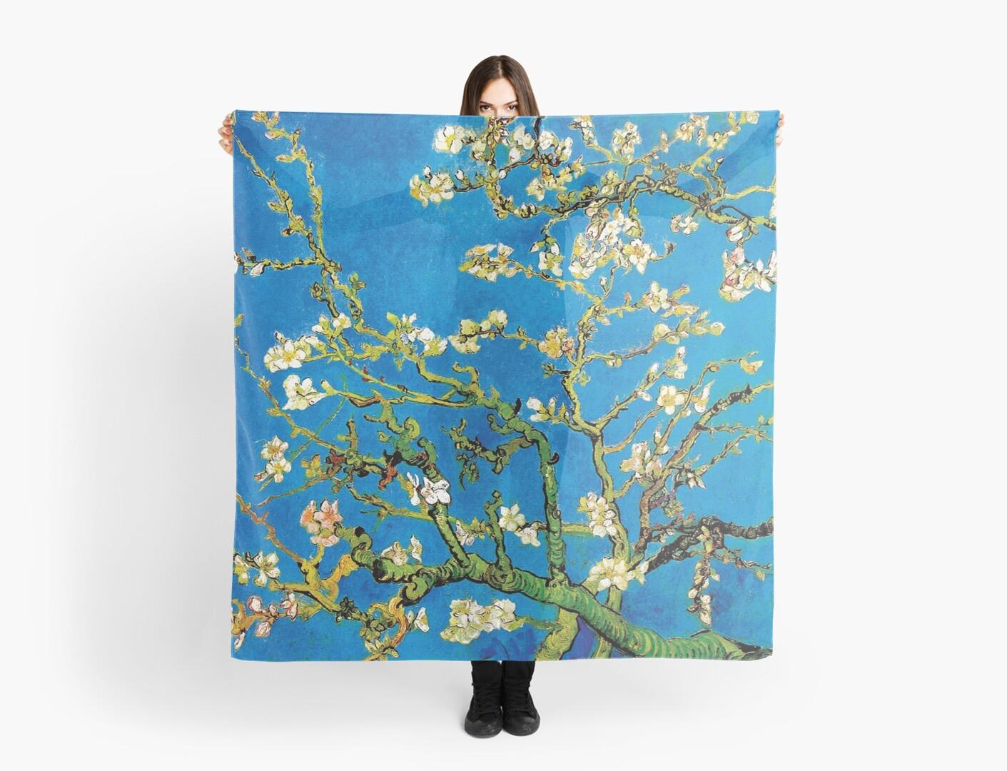 Vincent Van Gogh - Almond Blossoms Fine Art Painting by Jeffest