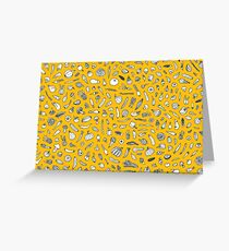 Vegetables - yellow - Greeting Card