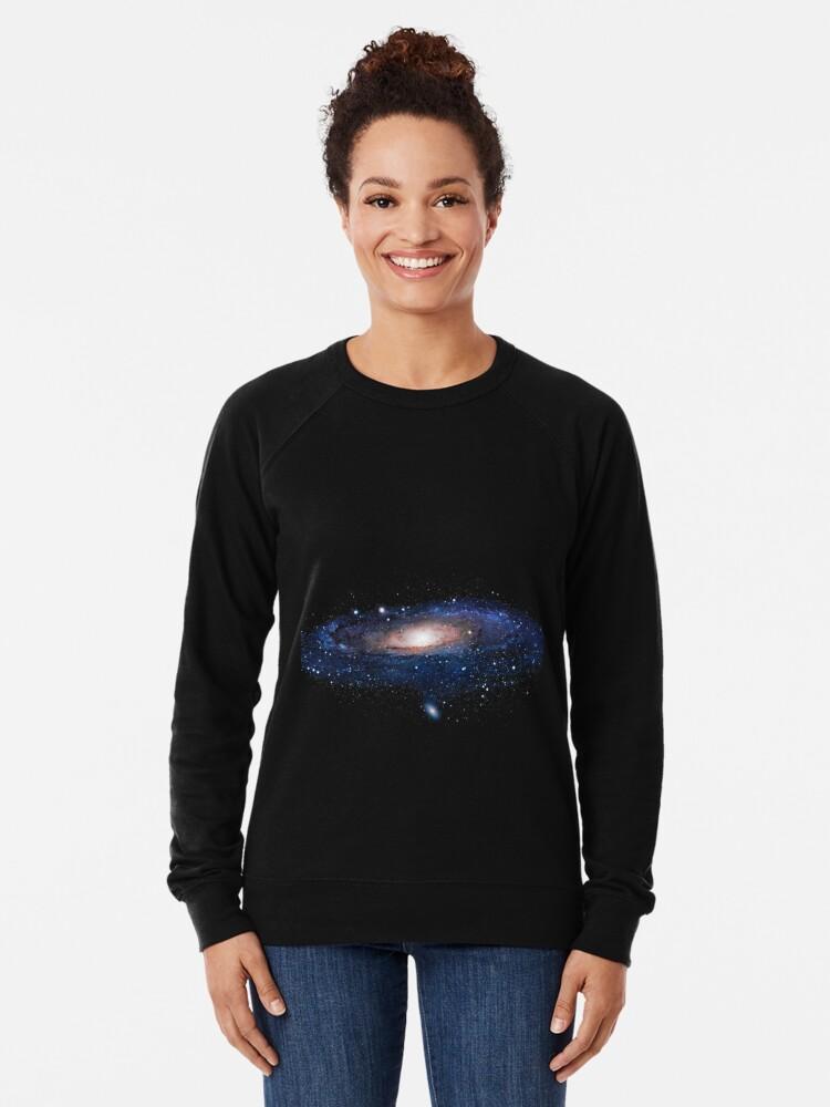 Alternative Ansicht von Galaxis Leichter Pullover