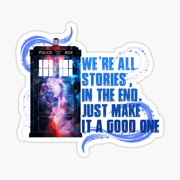 Stories in the End Sticker