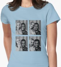 Buffalo 66 spanning time Womens Fitted T-Shirt