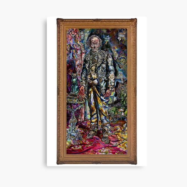 The Picture of Dorian Gray (1945): Prop by Ivan Albright Canvas Print