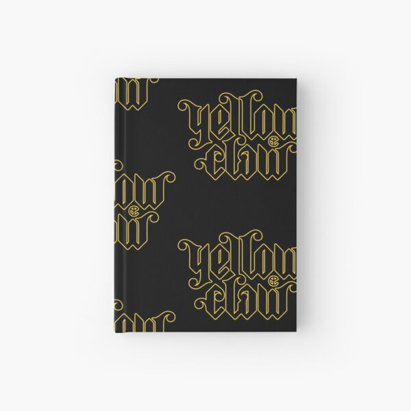 Yellow Clow Logo Bestselling Hardcover Journal