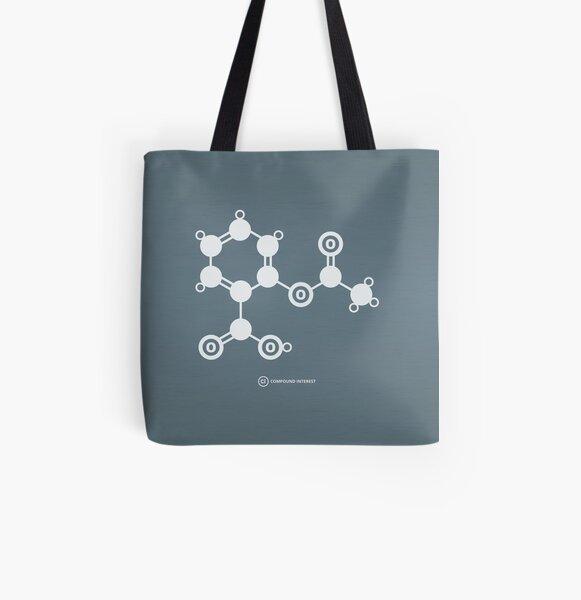 Aspirin All Over Print Tote Bag