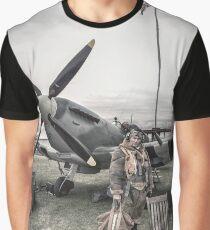 Spitfire Pilot Graphic T-Shirt