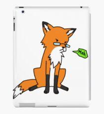 Cynical Fox iPad Case/Skin