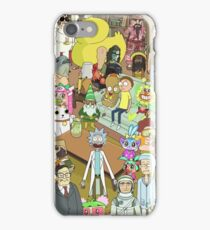 Zany Characters iPhone Case/Skin