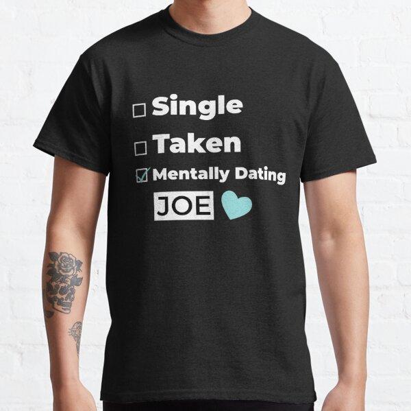 Mentally Dating JOE new trending cute heart check box valentine pattern design 2021 Classic T-Shirt