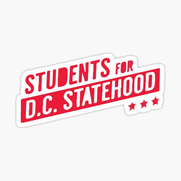 dc statehood Sticker