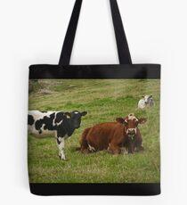 Milky Muzzle Tote Bag