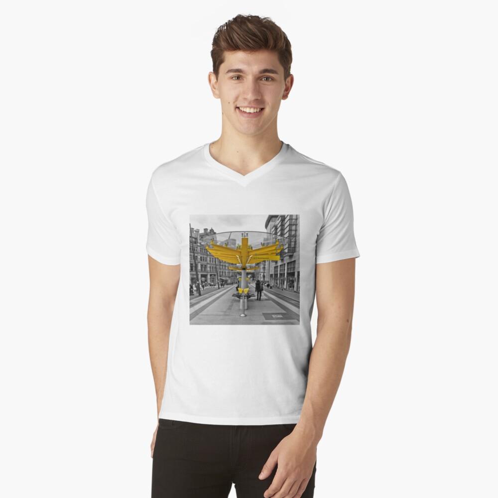 Manchester, Transport Links V-Neck T-Shirt
